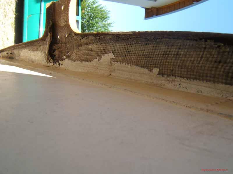 Lanaverre 420-Dessous du couvercle de puits de dérive